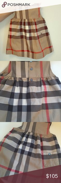 Burberry Dress worn one time!.. looks brand new!.. worn only for pictures Burberry Dresses Casual