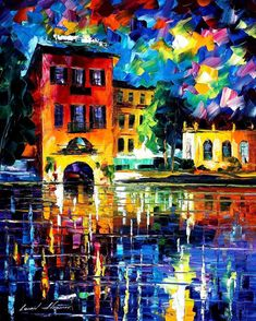 Oil Painting by Leonid #Afremov