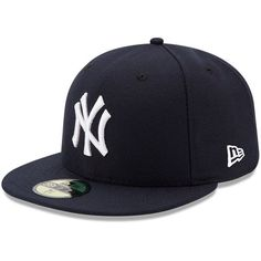 wholesale dealer 001af 7779e New York Yankees New Era Youth Authentic Collection On-Field Game 59FIFTY  Fitted Hat - Navy