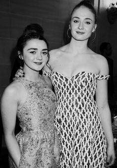 Wanderlust — Maisie Williams and Sophie Turner at the Game of...