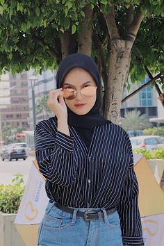 Casual Hijab Outfit, Ootd Hijab, Hijab Chic, Muslim Fashion, Ootd Fashion, Fashion Outfits, Hijab Fashion Inspiration, Clothes, Clothing