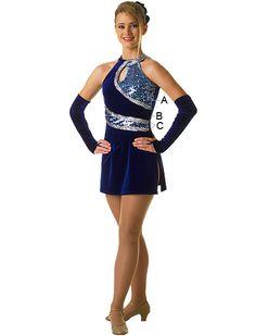 possible majorette uniform, tunic dress and add rhinestones