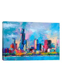 Chicago 5 by Richard Wallich (Giclee Canvas) by iCanvas at Gilt