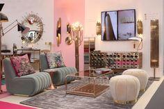 www.delightfull.eu/blog #uniquelamps #uniquedesign #midcenturylighting #designevent #designlovers #100design #furniturefair #londontradeshow