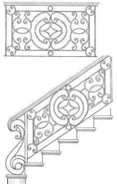 Stair Railing Designs ISR058