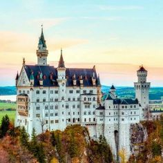 Beautiful castle in Germany.