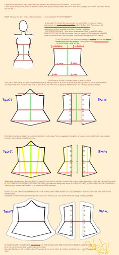 Underbust Tutorial by on deviantART - COSPLAY IS BAEEE! Tap the pin now to grab yourself some BAE Cosplay leggings and shirts! From super hero fitness leggings, super hero fitness shirts, and so much more that wil make you say YASSS! Motif Corset, Diy Corset, Corset Sewing Pattern, Underbust Corset, Bra Pattern, Diy Clothing, Sewing Clothes, Clothing Patterns, Sewing Patterns