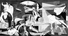 H Guernica του Pablo Picasso σε animation Pablo Picasso, Picasso Guernica, Monet, Dora Maar, Best Graffiti, Random Gif, Canadian Art, Remembrance Day, Museum Exhibition