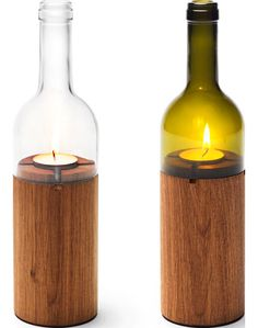 Wine bottle recycled