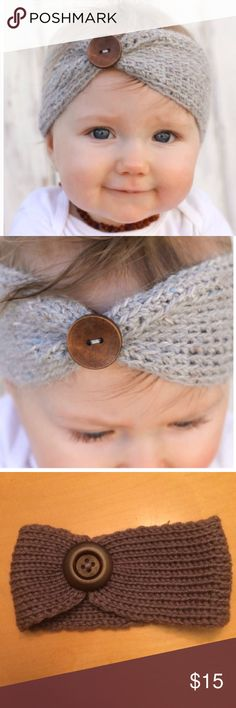 ✨hp 11/13✨Stretchy Knitted Headband Wool blend knitted headband. Fits ages 3 months to 4 years. So beautiful and good quality. thefrogskiss Accessories Hair Accessories