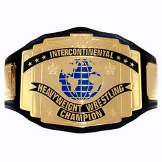 WWEShop - WWE Classic Intercontinental Championship Replica Title Belt