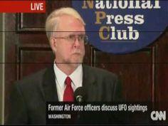 UFO - U.S. ARMY : Déclarations des témoins militaires d'OVNI sur des sites nucléaires !  . Témoins militaires d'OVNI sur des sites nucléaires, est une conférence (1h27) du National Press Club - Washington D.C. - U.S.A, diffusée en direct sur CNN  le 27/09/2010, concernant la divulgation de faits inexpliqués liés au phénomène OVNI observés par l'armée.