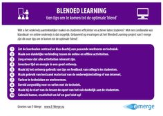 Blended Learning met E-merge partners | ICTO