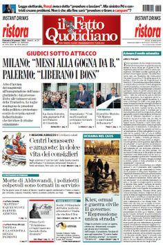Il Fatto Quotidiano (26-01-14)Italian   True PDF   24 pages   10,14 Mb