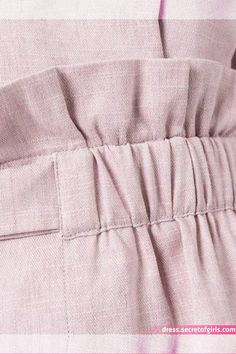 Sewing hack idea in 2020 Linen Pants Outfit, Costura Fashion, Pants For Women, Clothes For Women, Fashion Sewing, Classy Outfits, Fashion Details, Sewing Hacks, Hijab Fashion