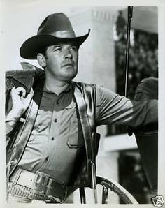 "Peter Breck as Nick Barkley in ""The Big Valley"" TV series"