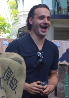 The Walking Dead's Andrew Lincoln and Norman Reedus Visit Singapore - Popspoken Walking Dead Series, The Walking Dead, Lisa Williams, Andy Lincoln, Fox Movies, Visit Singapore, Handsome Actors, Family Album, Stuff And Thangs