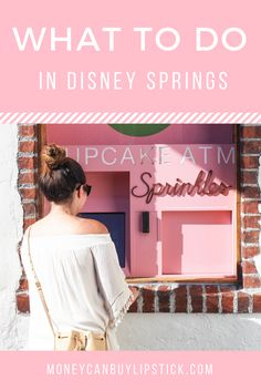 Disney Springs. What to do in Disney Springs. What to eat, what to see, and what to do in Disney Springs (formerly known as Downtown Disney) at the Walt Disney World Resort in Orlando.