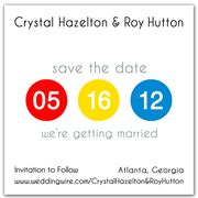 Unique Save The Date Magnets Funny Save The Dates, Unique Save The Dates, Wedding Save The Dates, Wedding Day, Let The Fun Begin, Save The Date Magnets, New York Style, Dating, Bright Colors