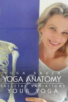 When practicing, reality looks sometimes different from the ideal depicted in Yoga Journal. This can become an emotional problem. Don't we all share the same structural blueprint? Yes AND no! Here´s why! #paulgrilley #chiaradina #yogaanatomy #bonedeep
