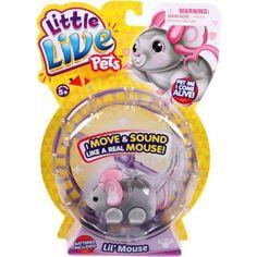 Moose Toys Little Live Pets Season 1 Lil' Mouse Single Pack, Smooch - Walmart.com