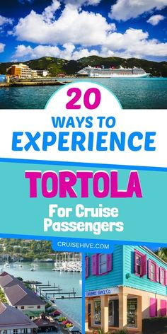 These 20 ways to experience Tortola in the British Virgin Islands will make sure you have a great cruise vacation in the Caribbean. Cruise Excursions, Cruise Destinations, Cruise Port, Cruise Tips, Cruise Travel, Cruise Vacation, Honeymoon Cruises, Italy Vacation, Disney Cruise
