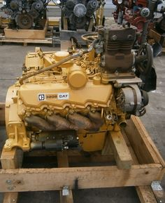 "Caterpillar ""3208"" V-8 diesel engine. Dump Trucks, Cool Trucks, Peterbilt Trucks, Chevy Trucks, Diesel Cars, Diesel Vehicles, Heavy Equipment, Outdoor Power Equipment, Marine Diesel Engine"