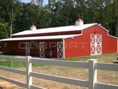 Metal Barn Steel Barn