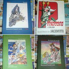 Grandi classici #Jacovitti #Luzzati #Pinocchio #Alice #PeterPan