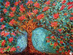 """L'ALBERO DELLA VITA "" Author: FRANCESCA COLETTI #sefiart #painting #art #pittura #tree Painting, Art, Painting Art, Paintings, Painted Canvas, Drawings"