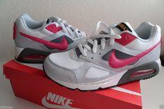 Nike Flex Air Max IVO Women's Running Shoes White Grey Pink 580519 168 #Nike #RunningCrossTraining