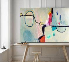 Stop Show abstract painting, abstract art Sarina Diakos Art Original Artwork, Original Paintings, Abstract Paintings, Art Paintings, Painting Prints, Art Prints, Picasso Paintings, Contemporary Abstract Art, Abstract Print