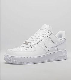 Details zu Nike Air Force 1 Custom mit Leder Schwarz und Tropfen Hängende