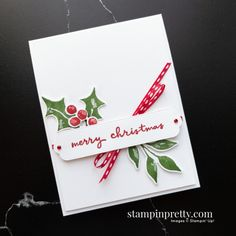 Stampin Up Christmas, Handmade Christmas, Holiday Cards, Christmas Cards, Mary Fish, Stampin Pretty, Card Making Inspiration, Pretty Cards, Paper Pumpkin