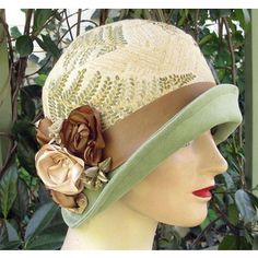 Designer Clothes, Shoes & Bags for Women Kentucky Derby Hats, Church Hats, Love Hat, Pink Hat, Summer Hats, Art Deco Jewelry, Headdress, Cowboy Hats, Vintage Inspired