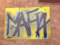 Mafia caligraphy