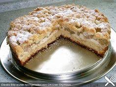 Rhabarber Streusel Pudding Kuchen ;) LOVE ;)
