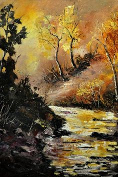 River in autumn 452121 by pledent (print image)