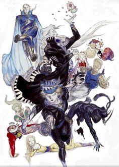 Yoshitaka Amano's Final Fantasy Art - Final Fantasy VI/ 6