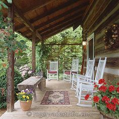 Porches, Gardens & Outdoor Spaces - Follow me, Suzi M, on Pinterest. Interior Decorator Mpls, MN