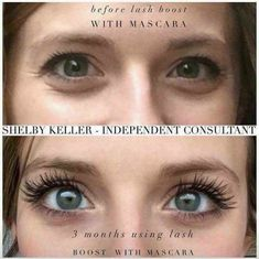"""01b25592f4b Courtney Spaulding on Instagram: """"This is consultant Shelby Keller, she  used R+F lash boost for 3 months… Just look at those lashes!!!"""