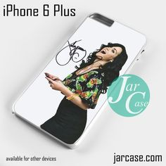 Beautiful Curved Katy Perry Phone case for iPhone 6 Plus and other iPhone devices