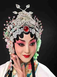 Chinese Opera posted by Sifu Derek Frearson Chinese Style, Chinese Art, Doll Costume, Costumes, Chinese Traditional Costume, Cut Out People, Chinese Opera, Dragon Dance, Hair Reference