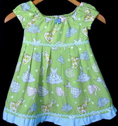 **FRIDAY SPOTLIGHT - Retro Apron Toddler Dress 2T-8 $20 and Free shipping #kidsclothes #handmade #children #moms