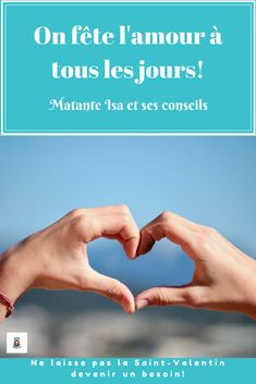 Pas besoin de Saint-Valentin quand on est heureux! Holding Hands, Being Happy, Tips, Hand In Hand