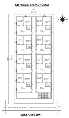 Little House Plans, 2bhk House Plan, Free House Plans, Three Bedroom House Plan, Small House Floor Plans, Model House Plan, House Layout Plans, Family House Plans, House Floor Design