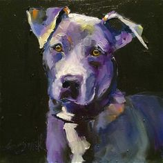 "Daily Paintworks - ""philomena 2"" - Original Fine Art for Sale - © Kim Smith"