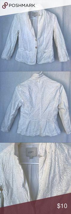 LOFT Peacoat Jacket Cardigan Coat Blazer Size 2. Automatically receive 15% off when you bundle 3+ items! LOFT Jackets & Coats Pea Coats