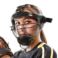 Full-Face Protection Mask for Softball (Youth/Adult Sizes) Dunham Sports, Softball Equipment, Fastpitch Softball, Football Helmets, Youth, Face, Outdoors, Baseball, Amazon