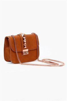 Rose Box Bag in Tan